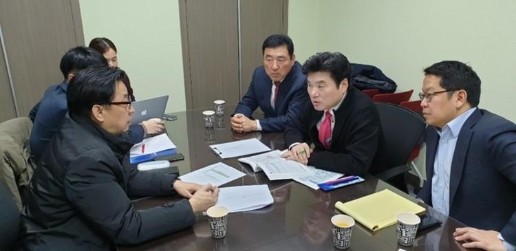 석호현 자유한국당 화성(병)당협위원장, 국토교통부와 병점역 GTX-C 연장 간담회 진행