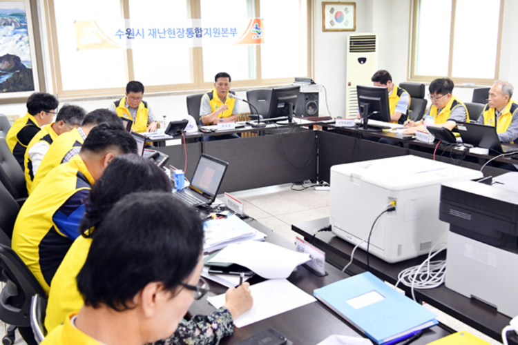 수원 권선구 A아파트 환기 구조물 22일 철거 완료될 듯