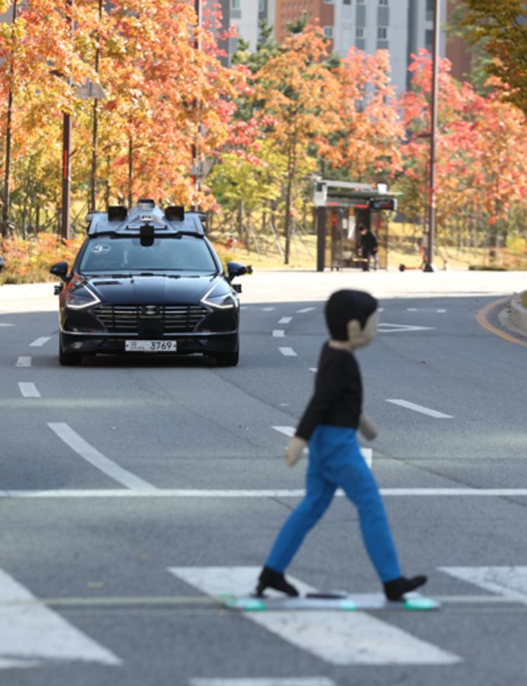 화성시-한국교통안전공단, 도심도로에서 자율협력주행 서비스 선보인다